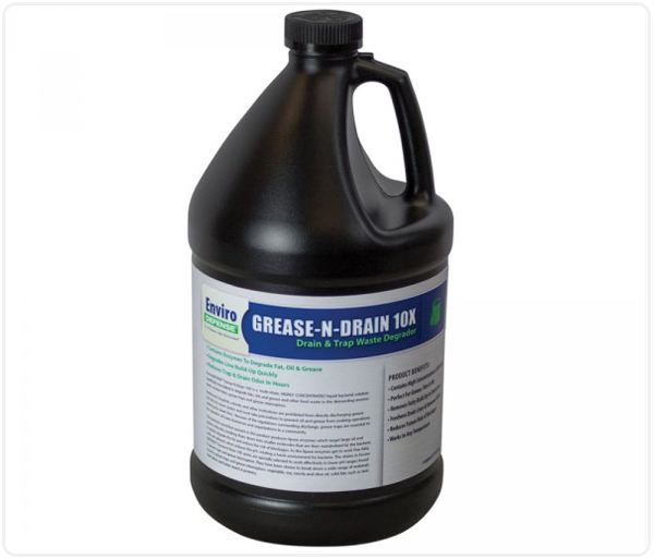 EnviroDEFENSE® Grease-N-Drain 10X